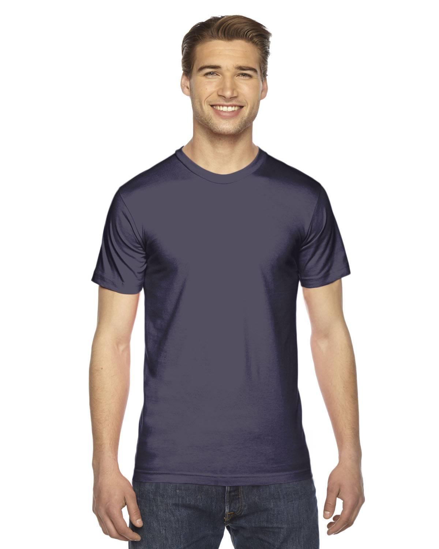 American Apparel Unisex Fine Jersey Short-Sleeve T-Shirt | 2001W