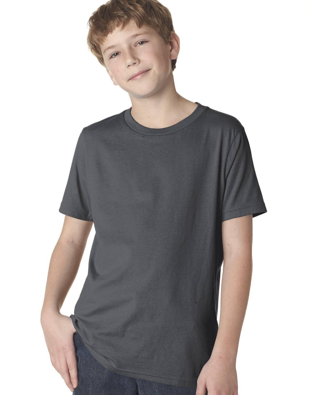 Next Level Youth Boys Cotton Crew | 3310