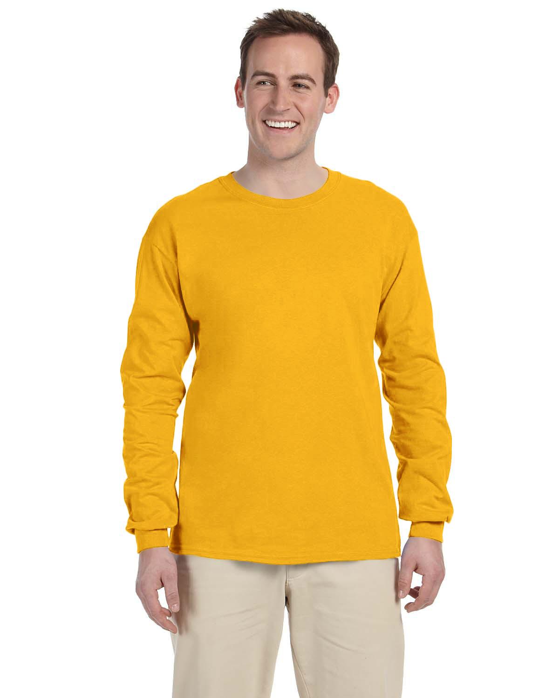 Fruit of the Loom Adult 8.3 oz./lin. yd. HD Cotton Long-Sleeve T-Shirt   4930