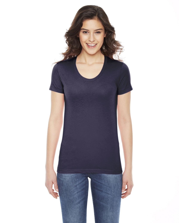 American Apparel Ladies' Poly-Cotton Short-Sleeve Crewneck | BB301W