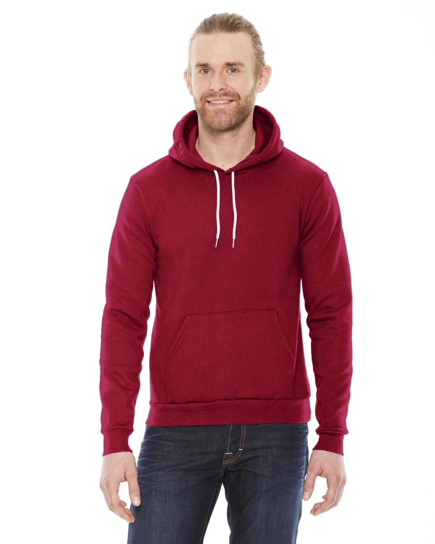 American Apparel Unisex Flex Fleece DropShoulder Pullover Hoodie | F498W