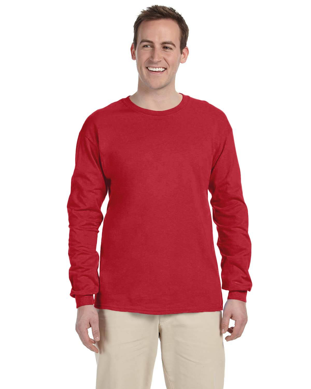 Gildan Adult Ultra Cotton 10 oz./lin. yd. Long-Sleeve T-Shirt   G240