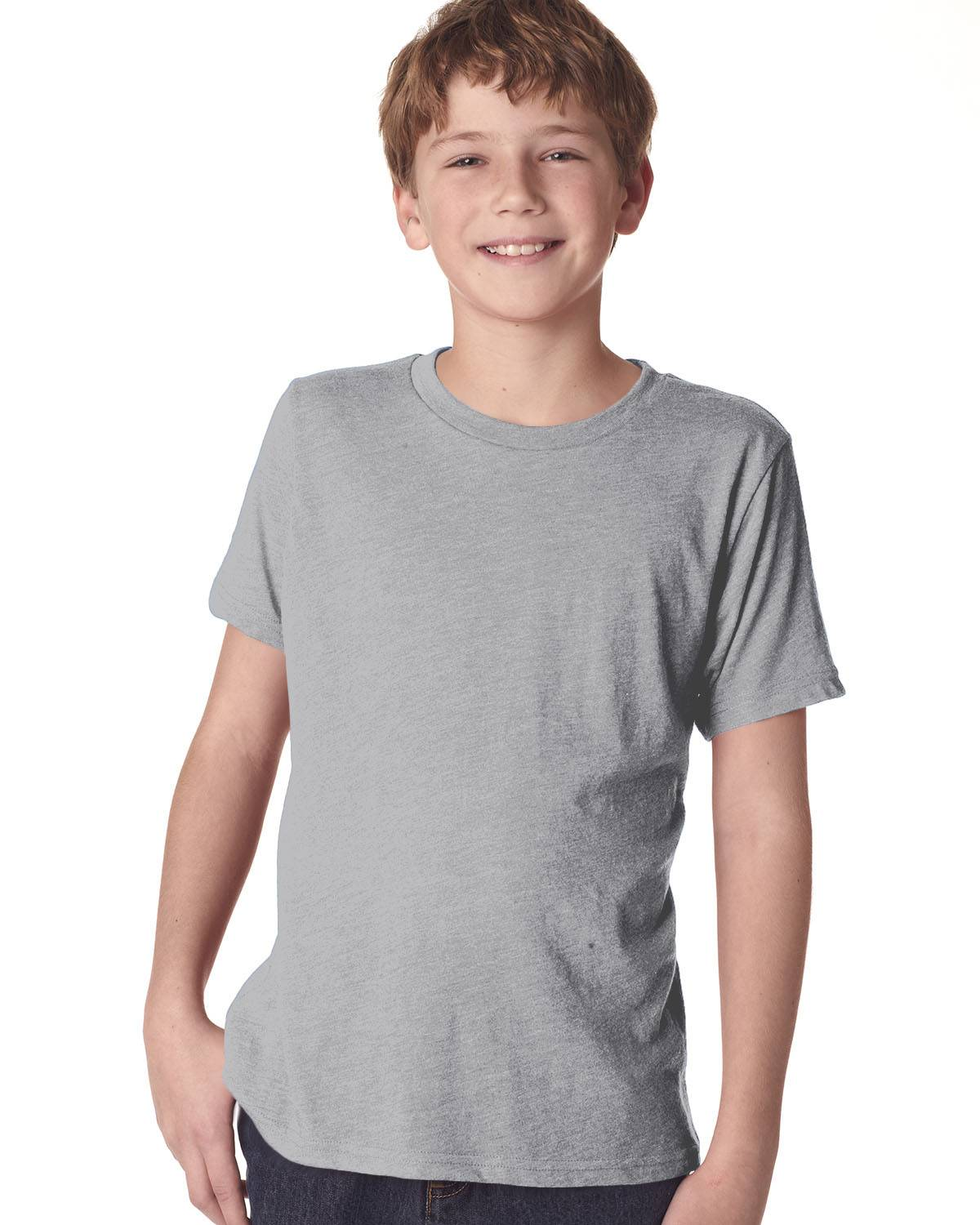 Next Level Youth Triblend Crew | N6310