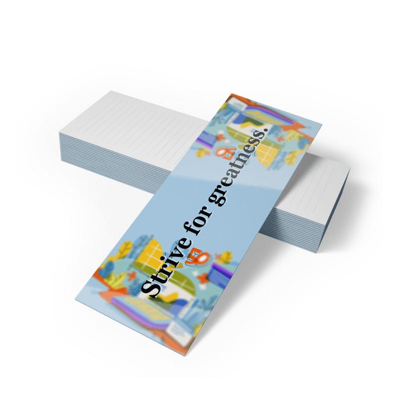 Bookamarks 14pt Writable + UV(C1S)