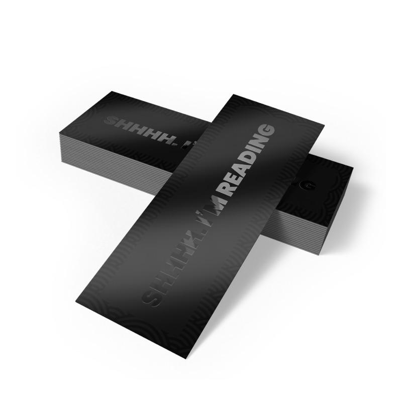 Bookmarks Matte Lamination + SPOT UV