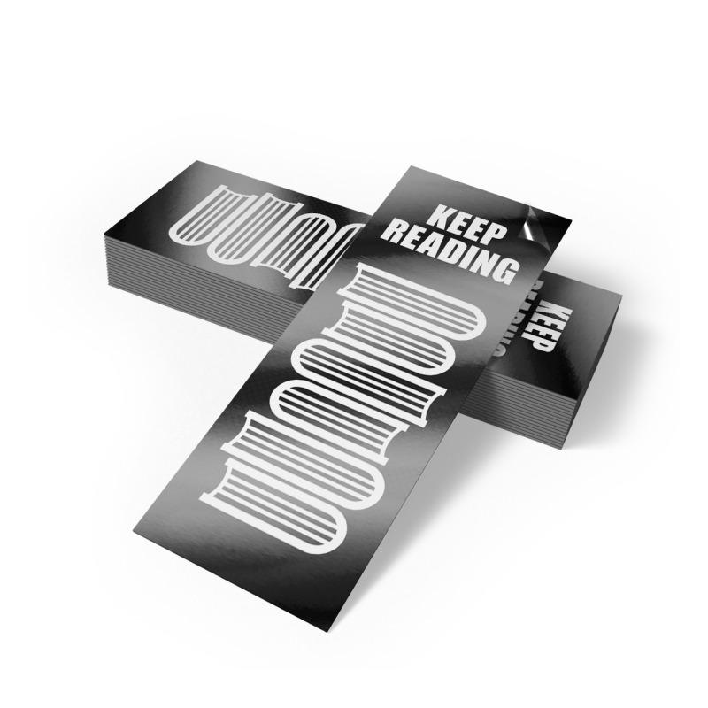 Bookmarks 18pt Matte / Silk Lamination