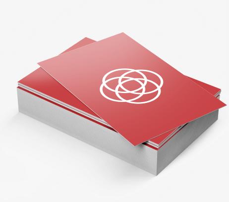 Business Cards 18pt Matte / Silk Lamination