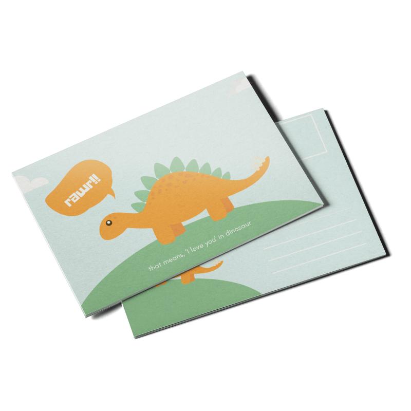 Cartes postales 13pt Enviro (recyclé)