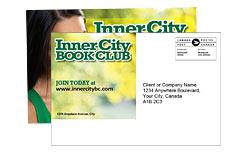 Publipostage - Cartes postales adressées - frais de poste non inclus 14pt