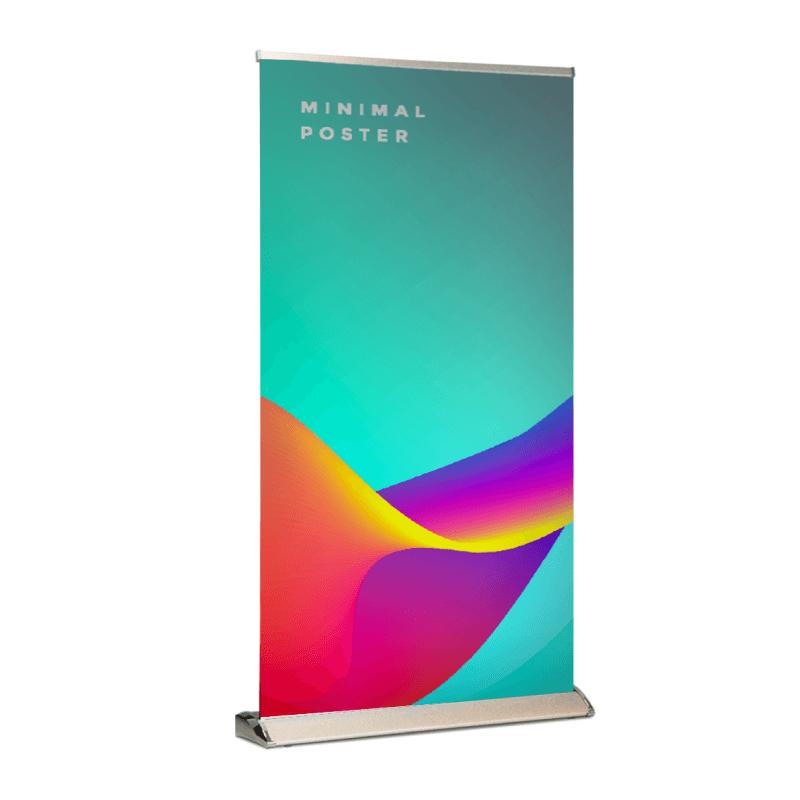 Bannière rétractable large de luxe Vinyle mat 13oz