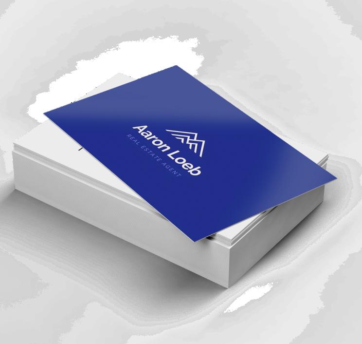 Cartes d'affaires Ultra lisse